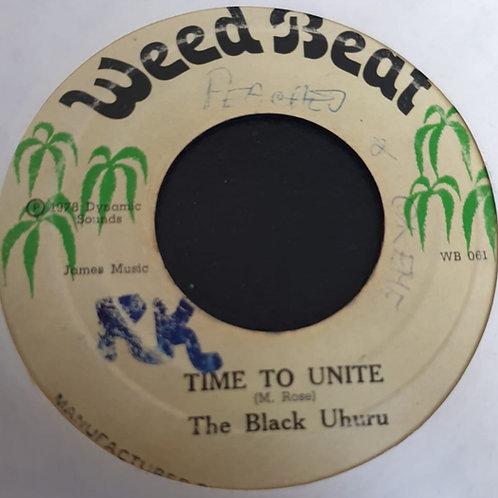 TIME TO UNITE BLACK UHURU