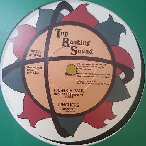 DON´T PRESSURE ME FRANKIE PAUL