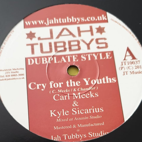 Carl Meeks & Kyle Sicarius / King Simeon & Kyle Sicarius ‎– Cry For The Youths /
