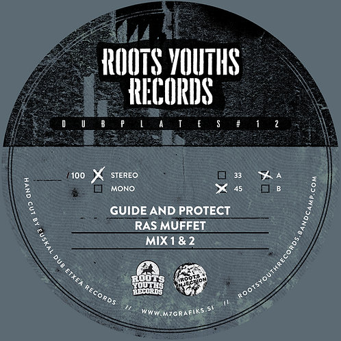 ***PRE ORDER*** GUIDE AND PROTECT RAS MUFFET ROOTS YOUTHS POLY VINYL SERIES 12