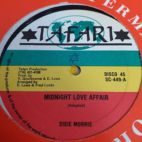MIDNIGHT LOVE AFFAIR SIXIE MORRIS