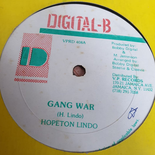 GANG WAR HOPETON LINDO