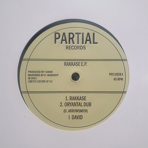 RAKKASE E.P I DAVID PARTIAL RECORDS