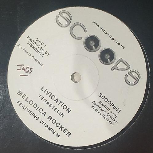"LIVCATION TENA STELIN VIBRONICS SCOOPS 12"""