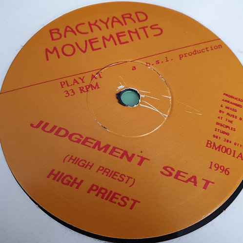 JUDGEMENT SEAT HIGH PRIEST