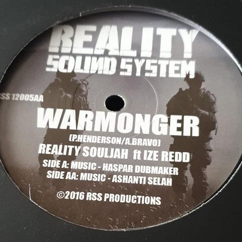 WARMONGER REALITY SOULJAH FT IZE REDD HASPAR AND ASHANTI SELAH