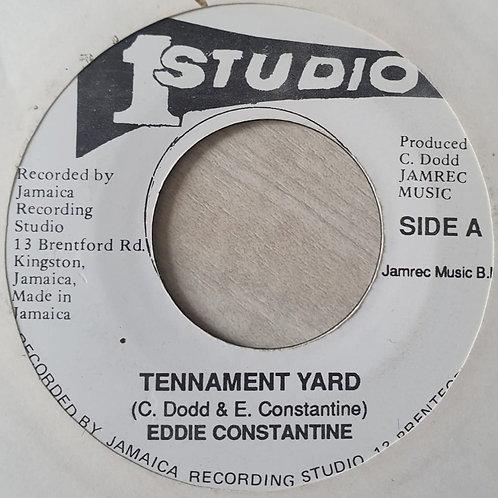TENNAMENT YARD EDDIE CONSTANTINE