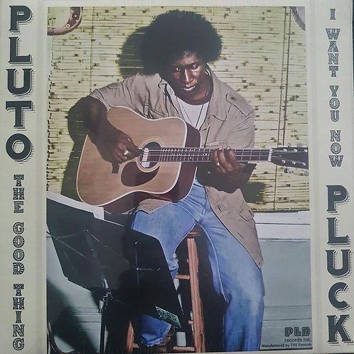 PLUTO THE GOOD THING / I WANT YOU KNOW TRS RECORDS