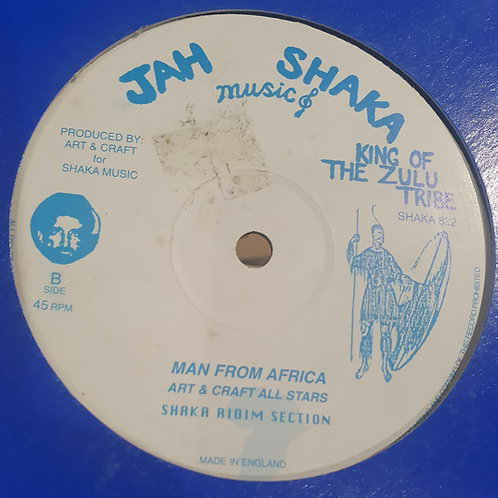 "AFRICAN MAN EARL CUNNINGHAM  JAH SHAKA 12"""