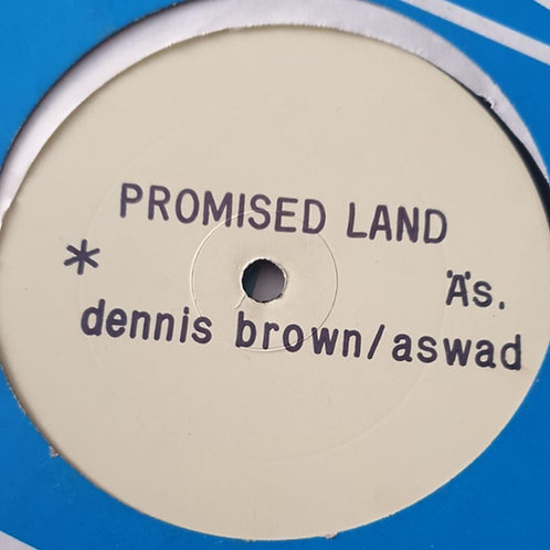 PROMISED LAND DENNIS BROWN ASWAD ORIGINAL 12""