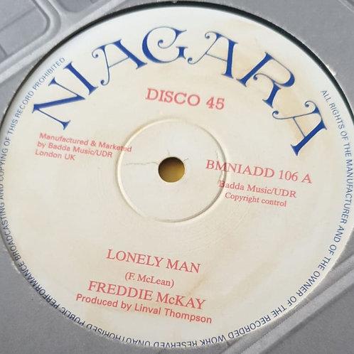 "LONELY MAN FREDDIE MCKAY REPRESS 12"""