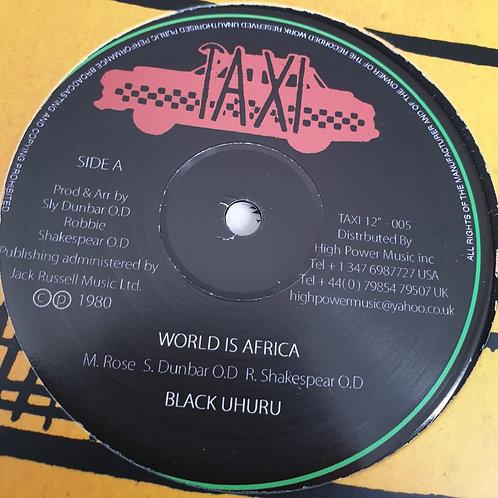 WORLD IS AFRICA BLACK UHURU