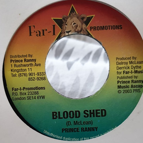 BLOOD SHED PRINCE RANNY