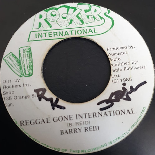 REGGAE GONE INTERNATIONAL BARRY REID