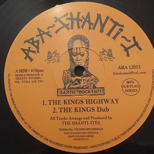 """THE KINGS HIGHWAY THE SHANTI ITES 12"""""""