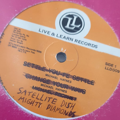 SATTELITE DISH / MARCUS WE MISS YOU THE MIGHTY DIAMONDS ORIG 12""
