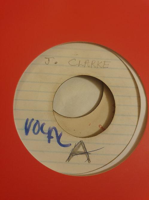 "STOP THE TRIBAL WAR JOHNNY CLARKE ORIGINAL 7"""