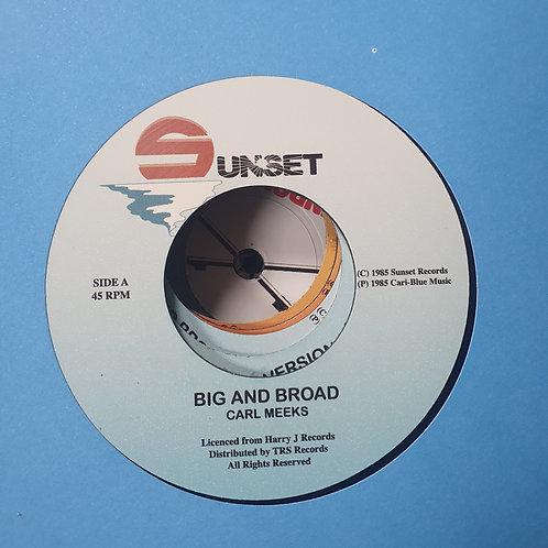 BIG AND BROAD CARL MEEKS TRS RECORDS