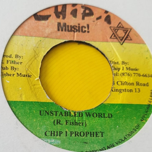 UNSTABLED WORLD CHIP I PROPHET