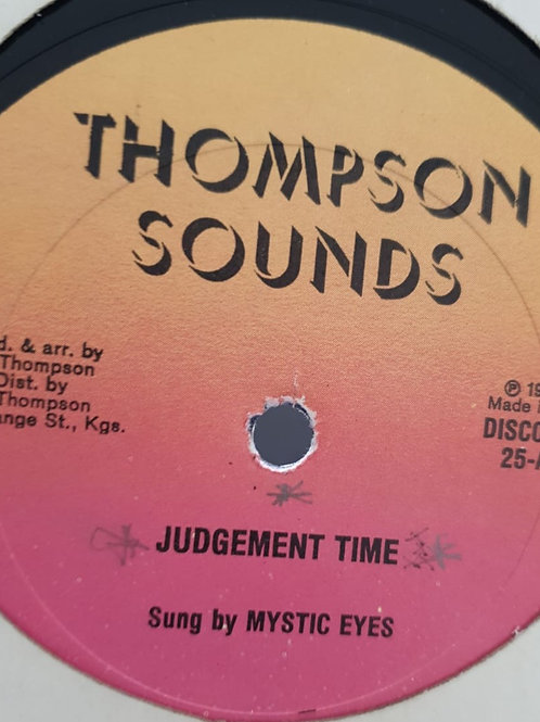"""JUDGEMENT TIME MYSTIC EYES / MORE POWER LINVAL THOMPSON ORIG 12"""" KILLER MIXES"""
