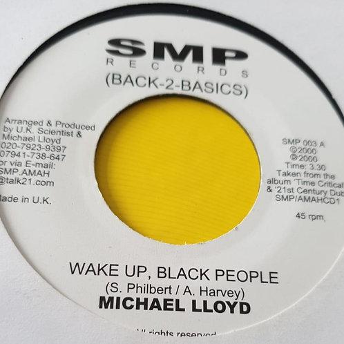 WAKE UP BLACK PEOPLE MICHAEL LLOYD