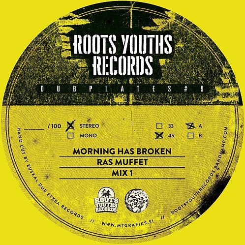 MORNING HAS BROKEN RAS MUFFET ROOTS YOUTHS DUBPLATE SERIES 9