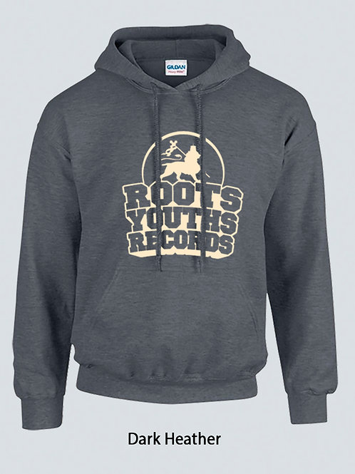 DARK HEATHER ROOTS YOUTHS RECORDS HOODY