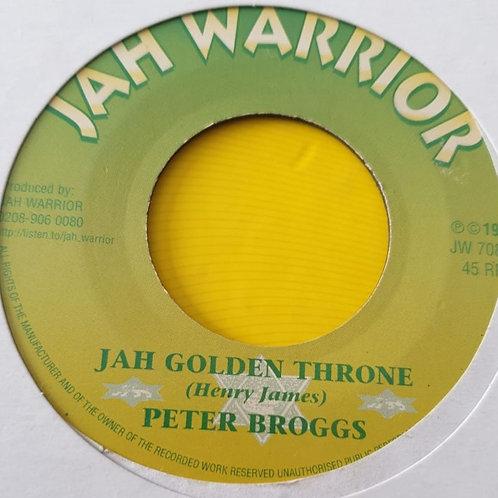 JAH GOLDEN THRONE PETER BROGGS