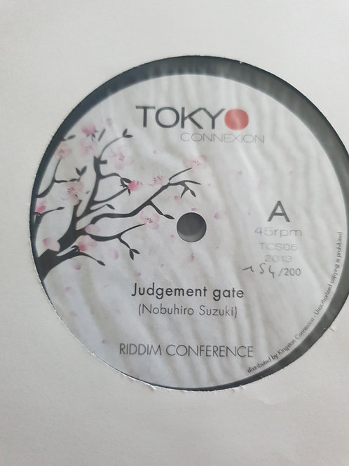 """JUDGEMENT TIME RIDDIM CONFERENCE TOKYO CONNECTION 7"""""""