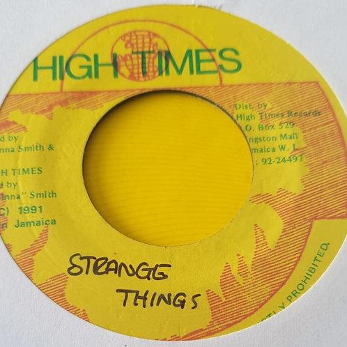 STRANGE THINGS FREDDIE MCGREGOR