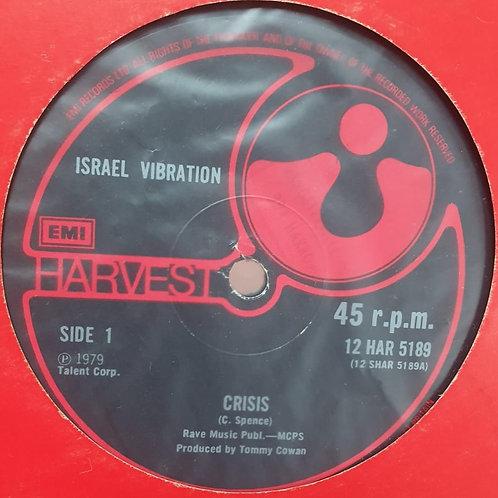 CRISIS ISRAEL VIBRATION HARVEST EMI