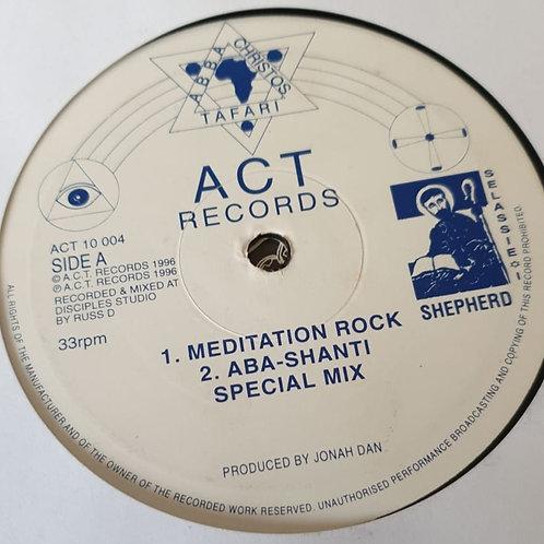 "MEDITATION ROCK JONAH DAN INNER SANCTUARY ORIG 10"" CLASSIC UK DUB"