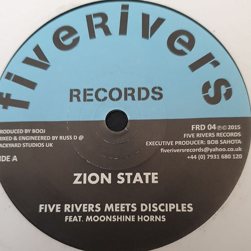 ZION STATE FIVE RIVERS MEETS DISCIPLES