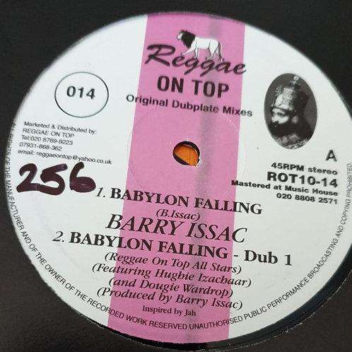 BABYLON FALLING BARRY ISSAC