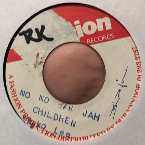 NO NO JAH JAH CHILDREN SHAKO LEE