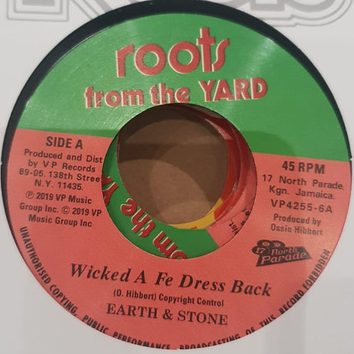 WICKED A FE DRESS BACK EARTH AND STONE