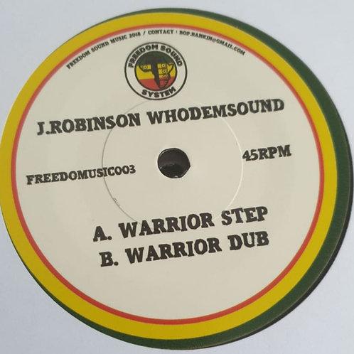 WARRIOT STEP J. ROBINSON WHODEMSOUND