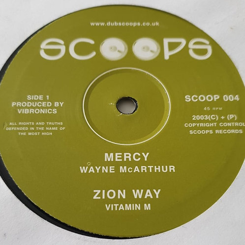 Various ‎– Mercy / Zion Way / Fettered & Chained