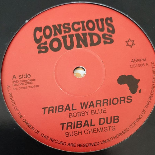 TRIBAL WARRIORS / WANT PEACE BOBBY BLUE