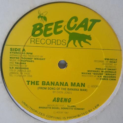 """THE BANANA MAN ABENG ORIGINAL 12"""""""