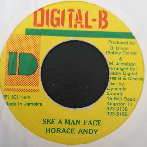 SEE A MAN FACE HORACE ANDY