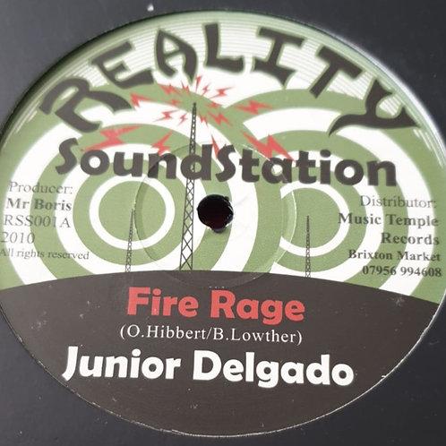 FIRE RAGE JUNIOR DELGADO