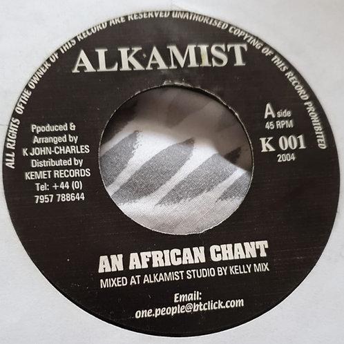 AN AFRICAN CHANT ALKAMIST