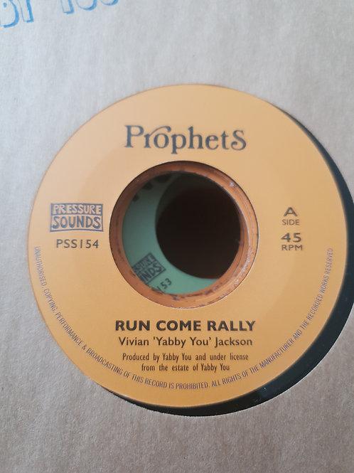 RUN COME RALLY VIVIAN JACKSON YABBY U PROPHETS