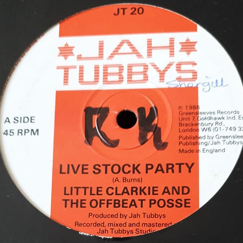 LIVE STOCK PARTY LITTLE CLARKIE AND THE OFFBEAT POSSE