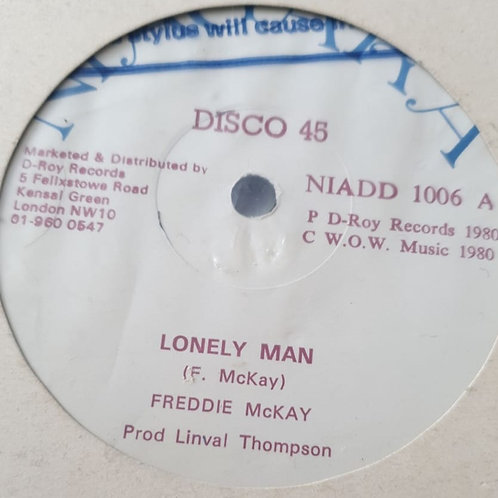 "LONELY MAN FREDDIE MCKAY ORIGINAL NIAGARA 12"""
