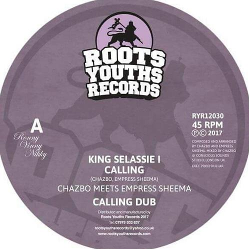 CHAZBO MEETS EMPRESS SHEEMA KING SELASSIE I