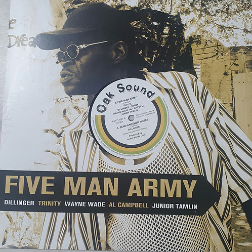 FIVE MAN ARMY AL CAMPBELL WAYNE WADE DILLINGER TRINITY JUNIOR TAMLIN