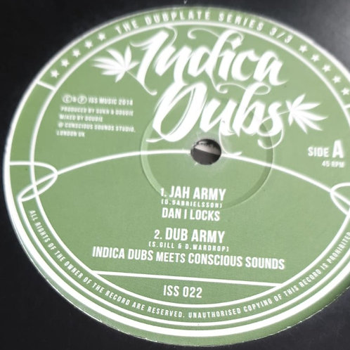 JAH ARMY DAN I LOCKS INDICA DUBS