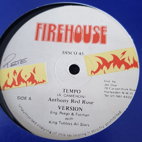 """TEMPO ANTHONY RED ROSE KING TUBBYS ORIG 12"""""""